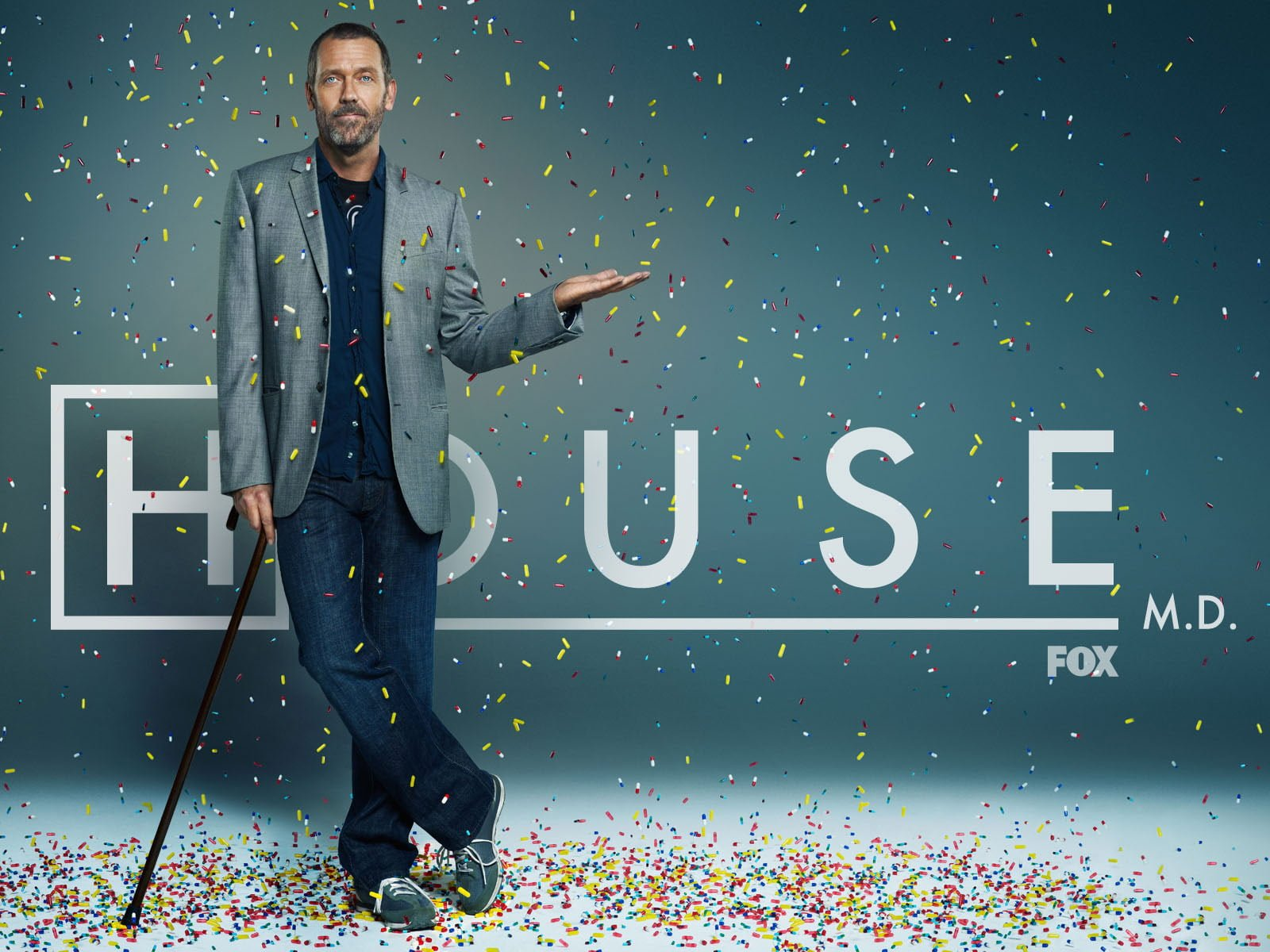 Exceptional Tv House Md Season 6 Vicodine Poster Wallpapers