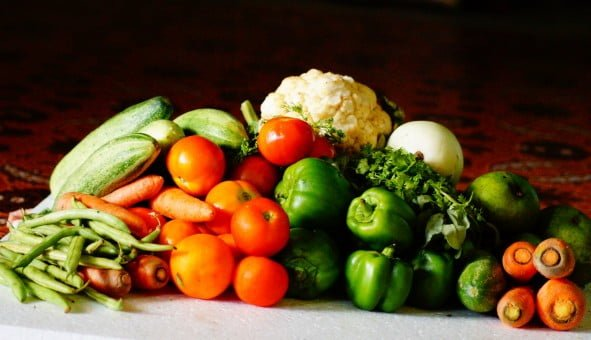 Del Monte vegetables with parasite
